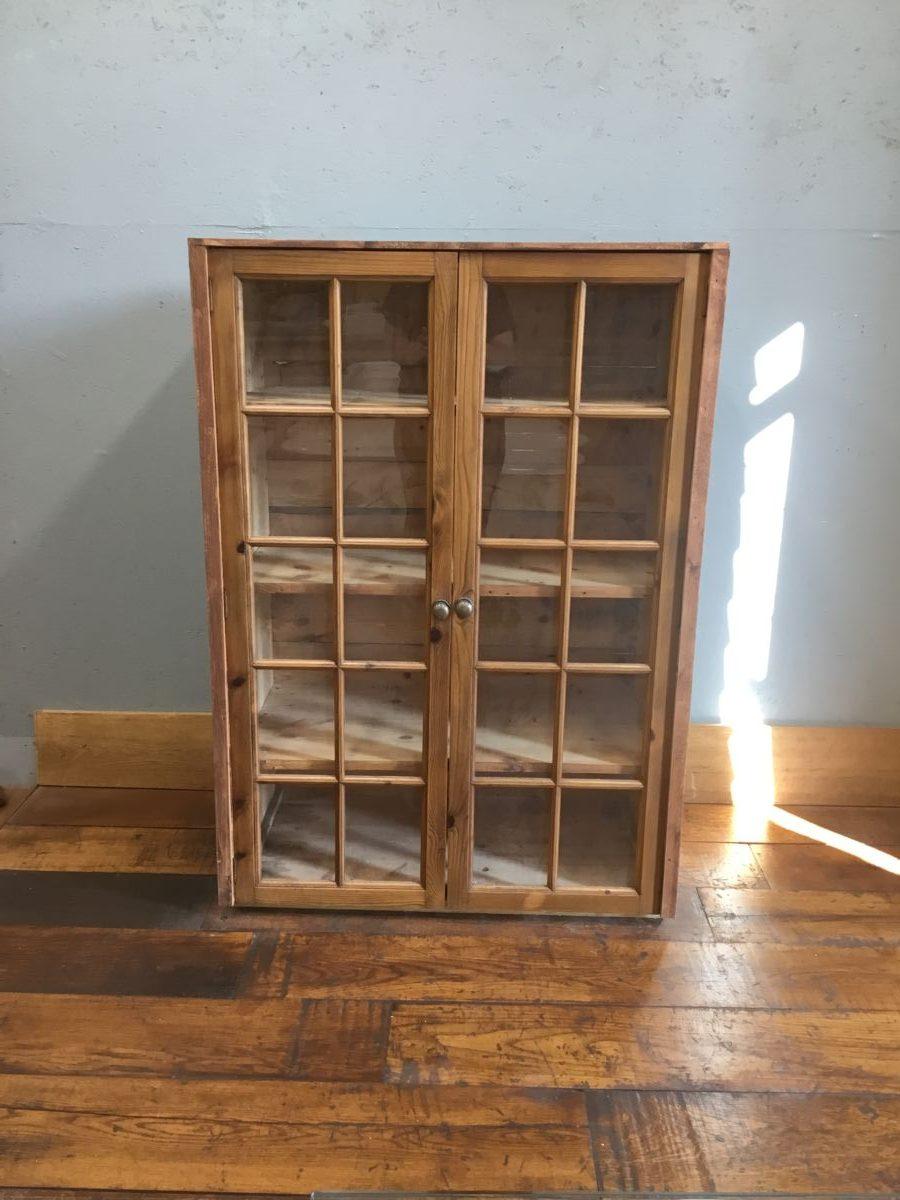 Large Cupboard & Glazed Doors