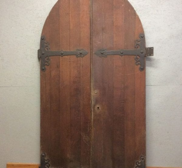 Solid Oak Arched Door