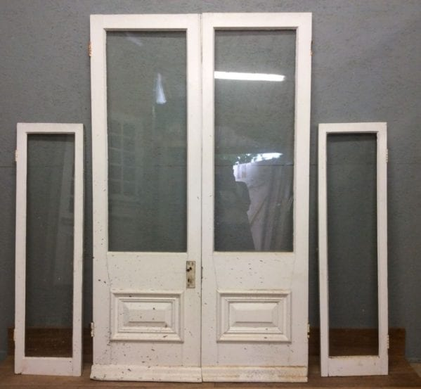 Reclaimed French Doors + Matching Windows