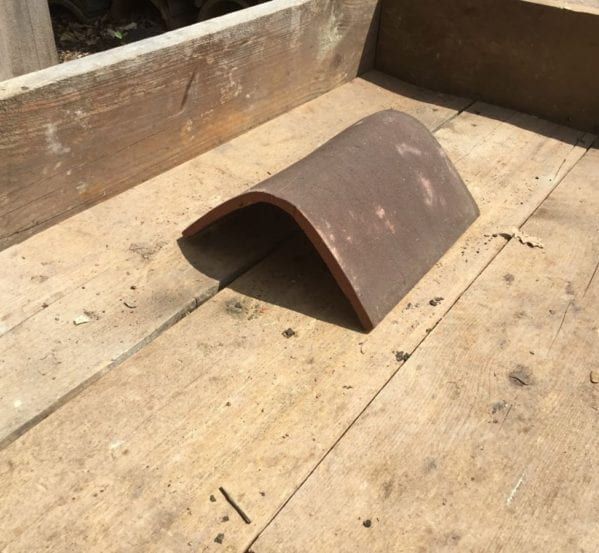 Dark Look Reproduction Ridge Tile
