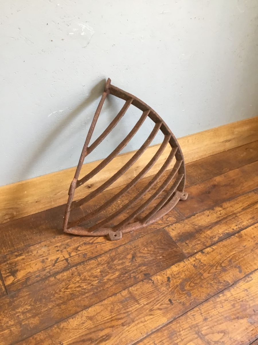 Solid Cast Iron Corner Hay Rack