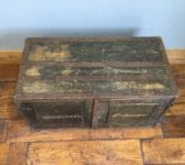 Lieutenant-Colonel S. V. Occleston Wooden Luggage Box