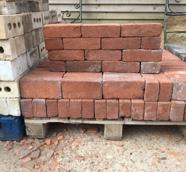 Reclaimed Reproduction Handmade Red Brick