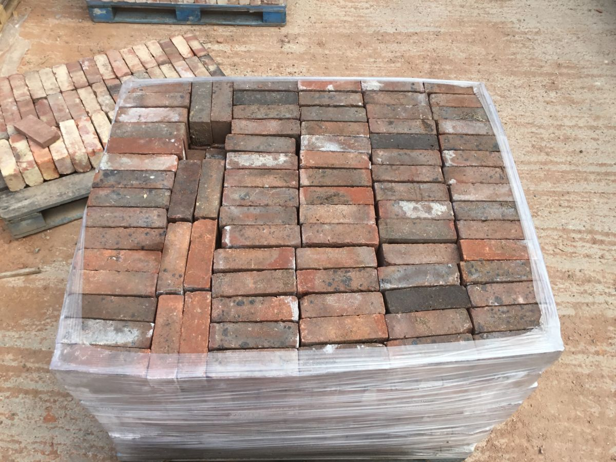 Reclaimed Modern Dark Red Brick