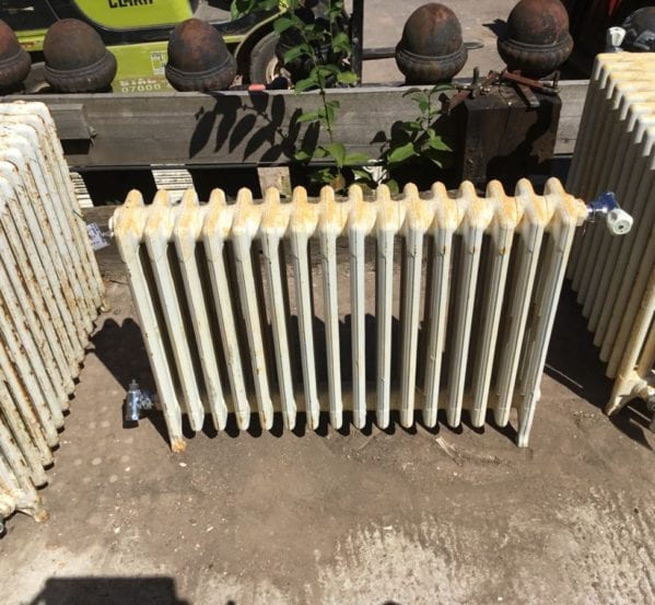 Large 2ft Reclaimed 4 Bar Radiator