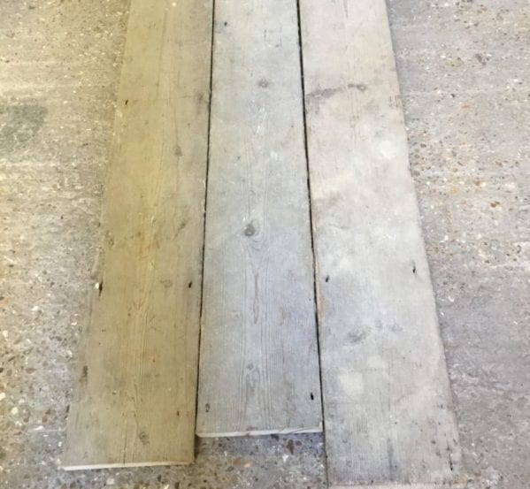 Reclaimed Rustic Pine Floorboards