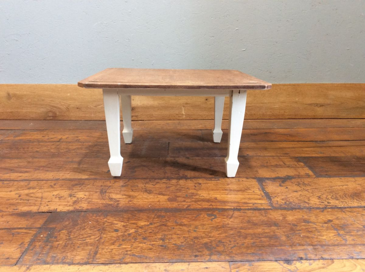 Low Oak Table