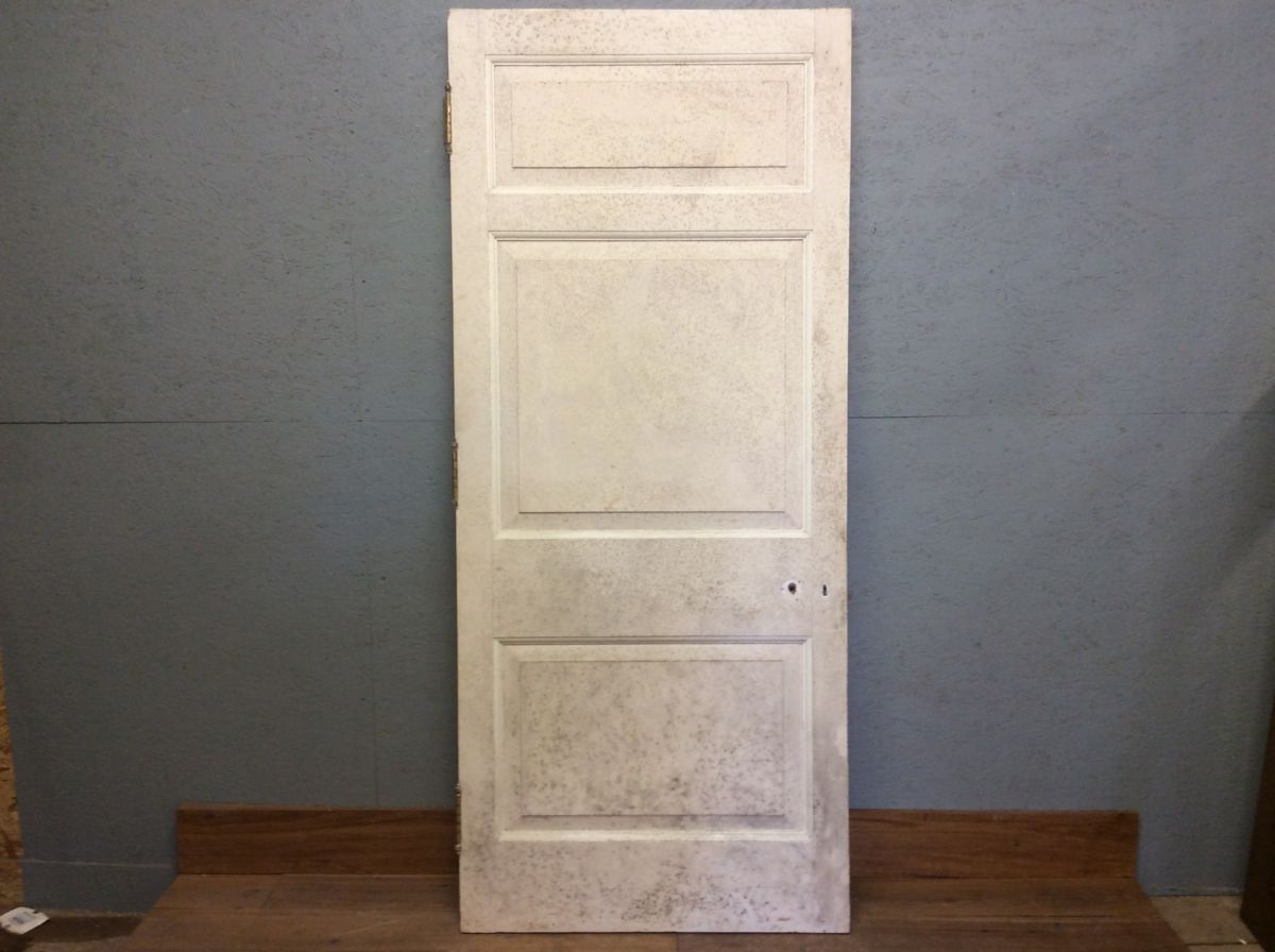 Large 3 Panelled Painted Door