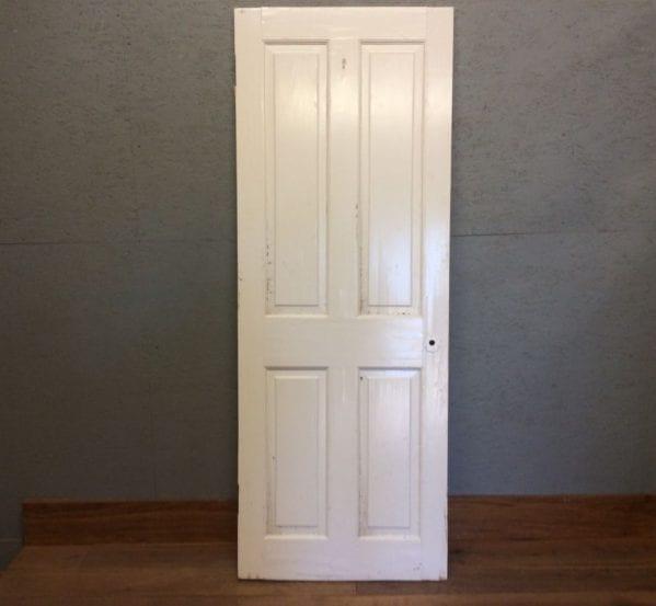 Ledge & Brace Oak Door