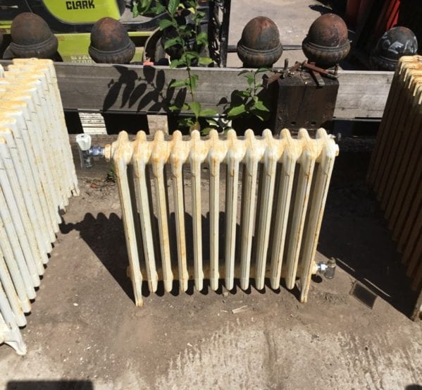 Reclaimed Painted 2ft 4 Bar Radiator