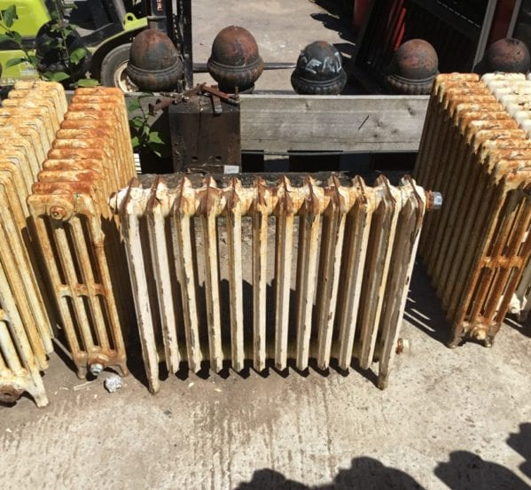 4 Bar 2ft Reclaimed Radiator