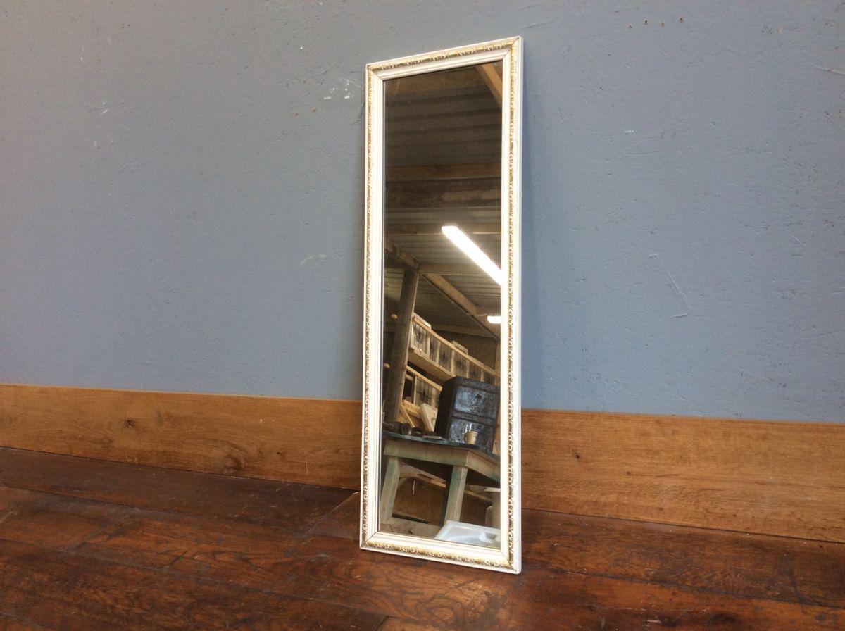 Narrow Wall Hung Mirror