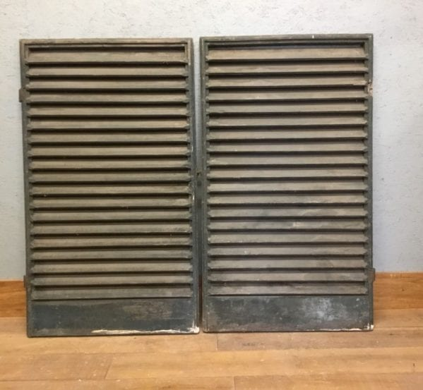 Period French Window Shutters