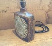 Stoneware Lamp Base