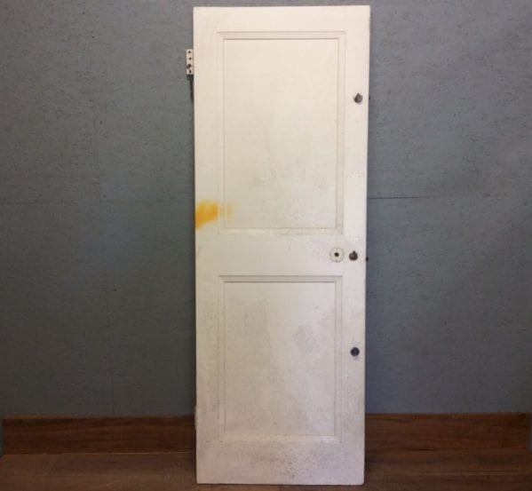 1 Over 1 White Door