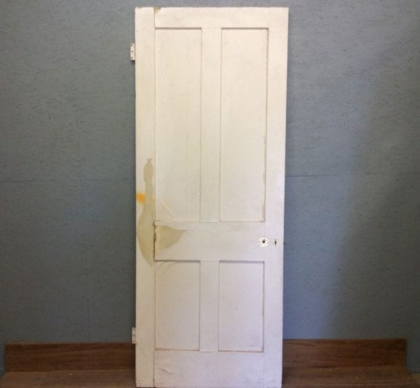 4 Panelled Door White