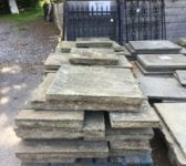 Thick Weathered Reclaimed York Stone Paving