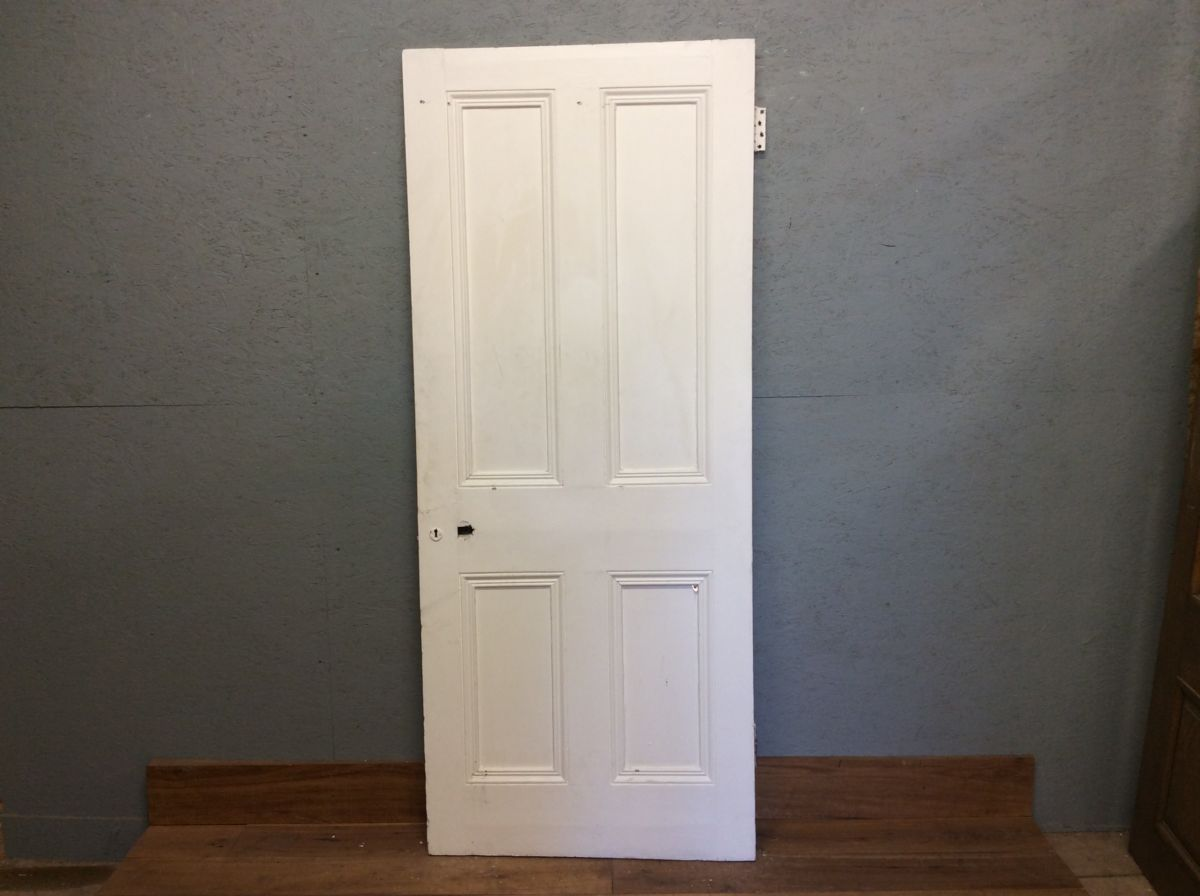 Large 4 Panel Painted Door