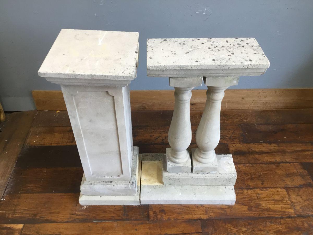 Urn Shaped Stone Balustrade
