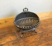 Rounded Shell Like Fire Basket