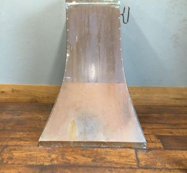 Tall Copper Fire Hood