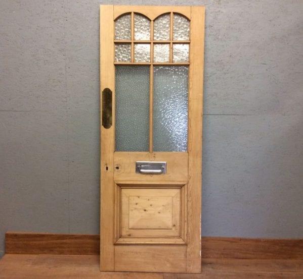 Crafted Half Glazed Door