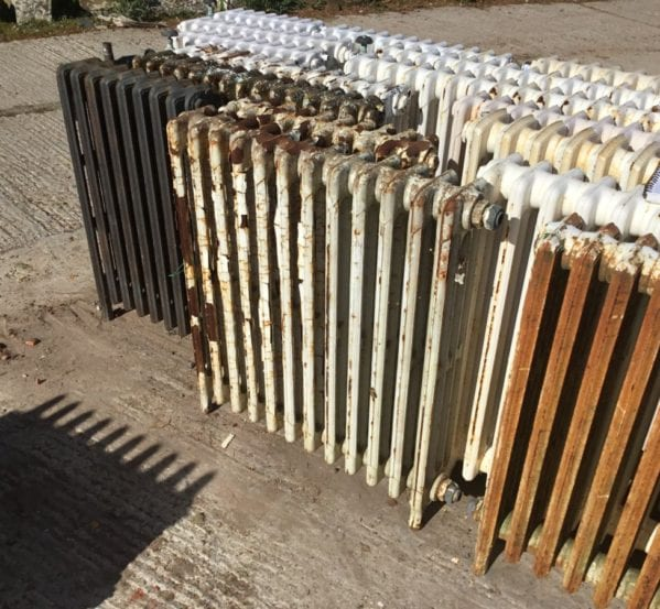 4 Bar Reclaimed Mid High Radiator