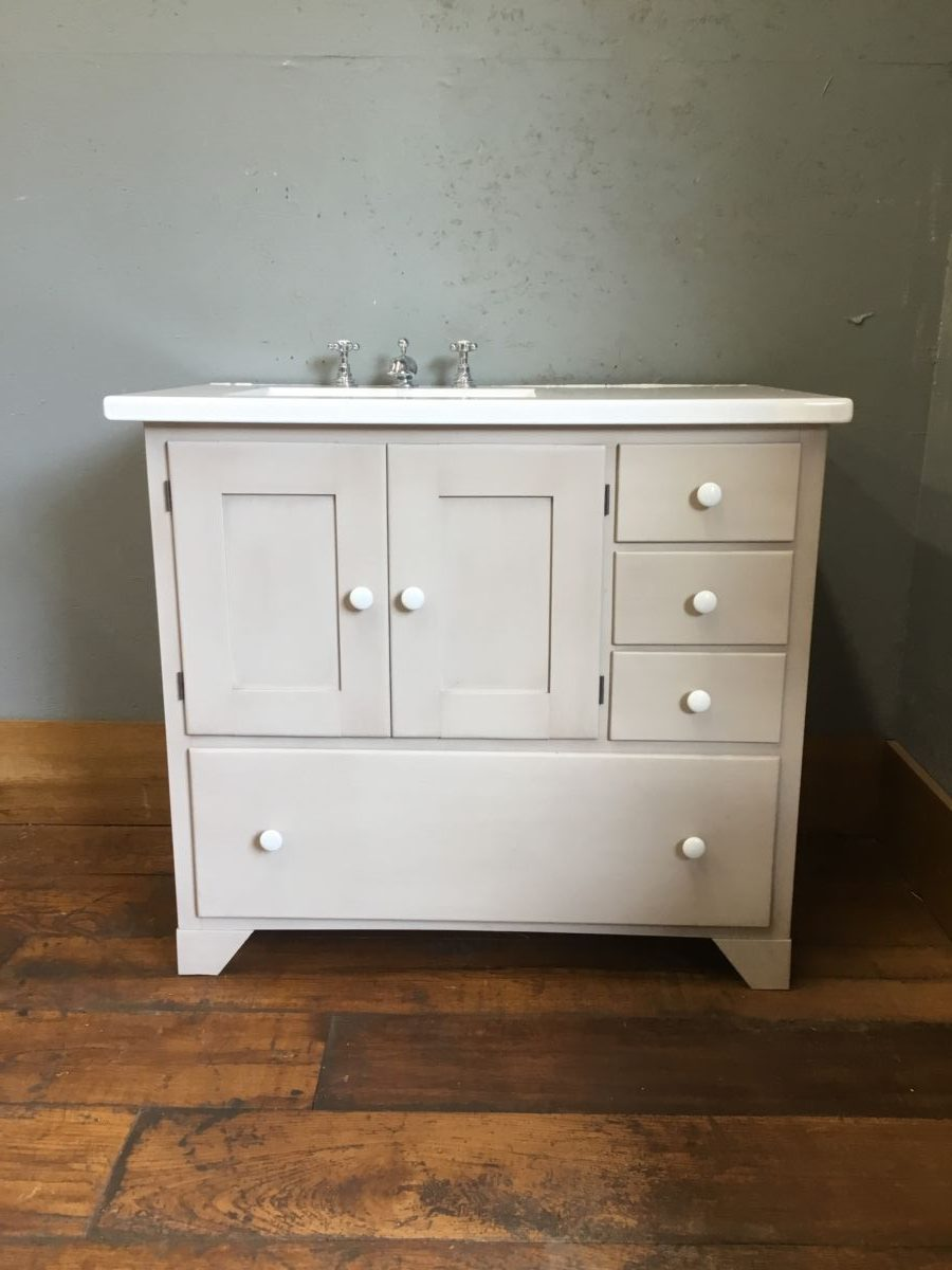 Fired Earth Washstand Basin Cabinet