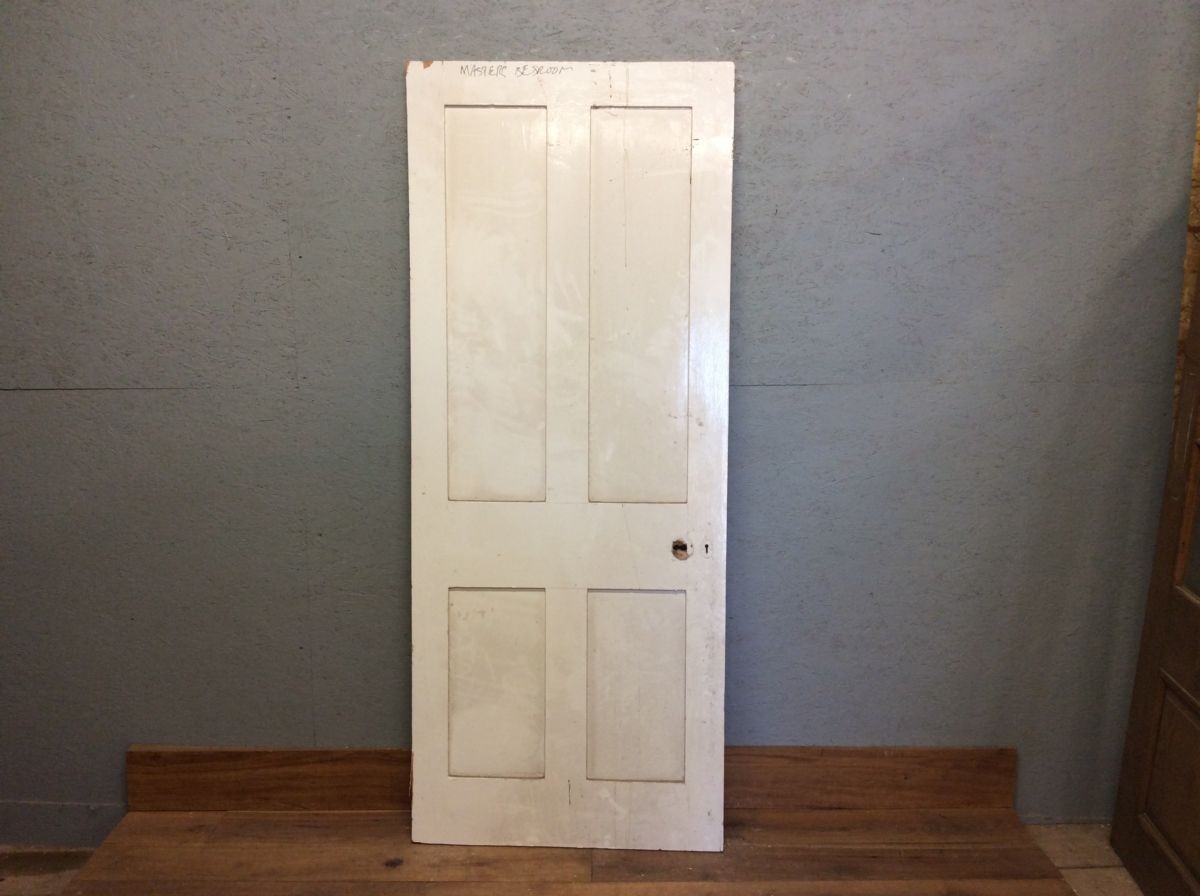 Painted 4 Panel Door