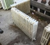 Long Reclaimed 4 Bar Radiator
