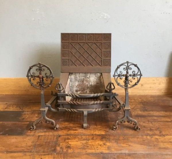 Large Arts & Crafts Fire Basket