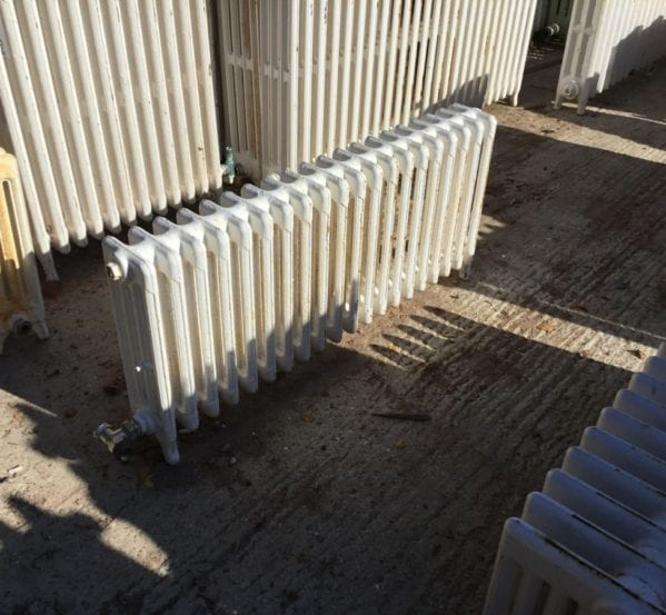 4 Bar Short Reclaimed Radiator