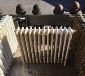 Reclaimed 4 Bar Small Radiator