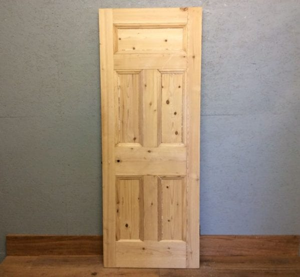 Stripped Smooth 5 Panel Door