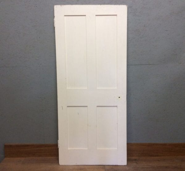 S White 4 Panelled Door