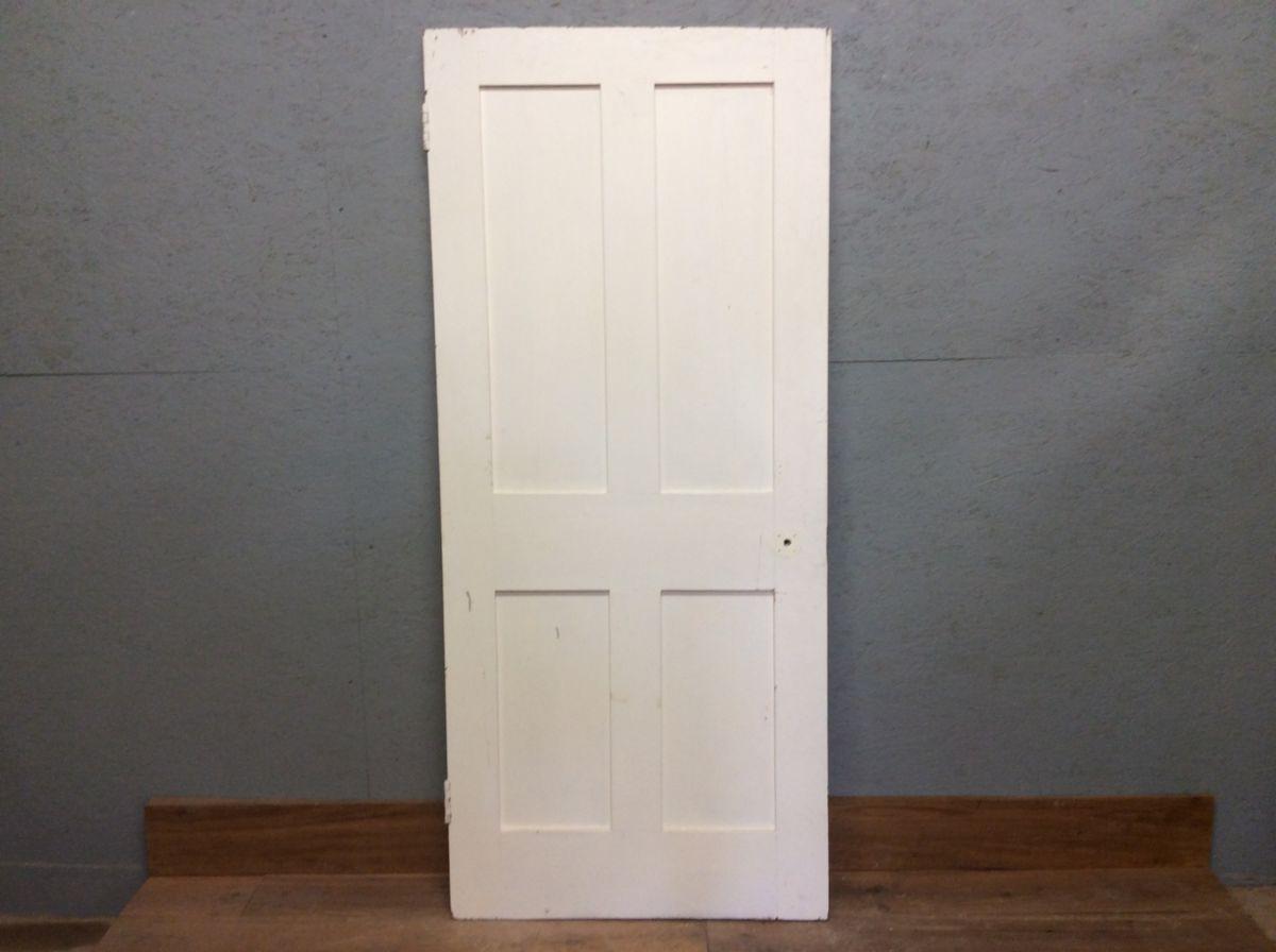 S White 4 Panelled Door