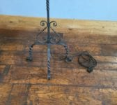 Iron Free-standing Electric Candelabra