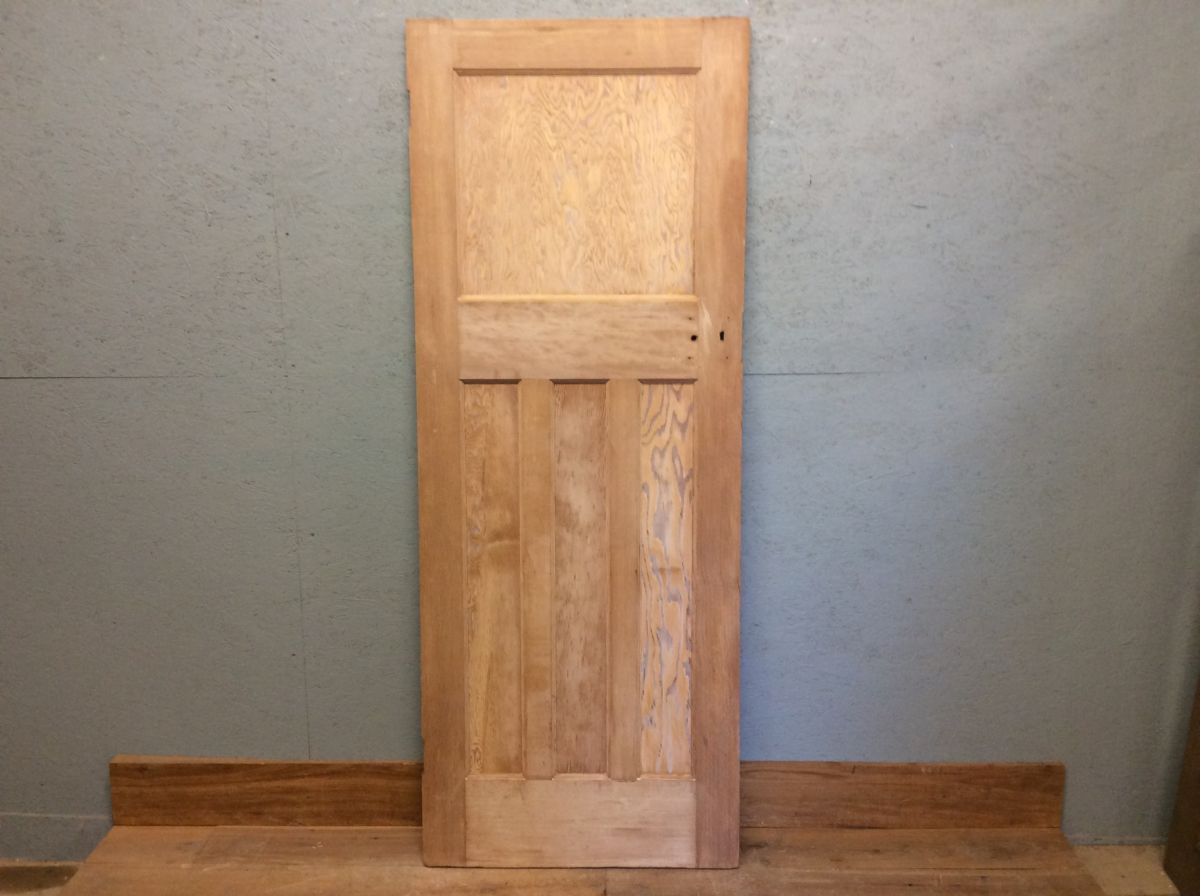 Stripped 4 Panelled Door -1 Over 3-