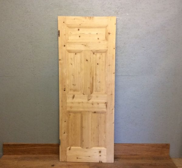 Smooth Stripped 5 Panel Door