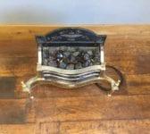 Electric Regency Style Fire Basket