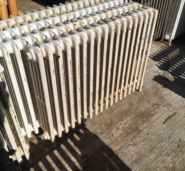 Reclaimed Mid Height 4 Bar Cathedral Radiator