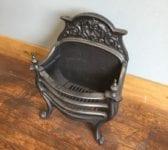 Solid Cast Iron Regency Style Fire Basket