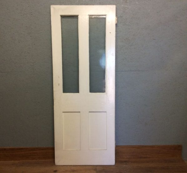 Painted Half Glazed Door