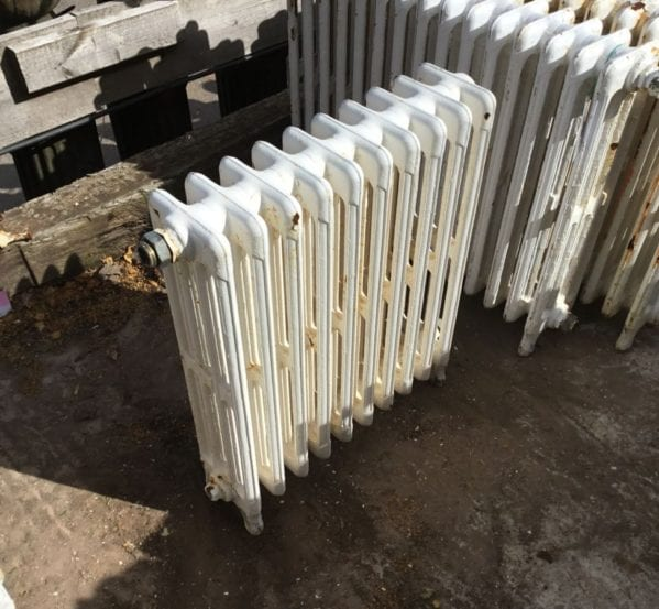 Small Reclaimed 4 Bar Radiator