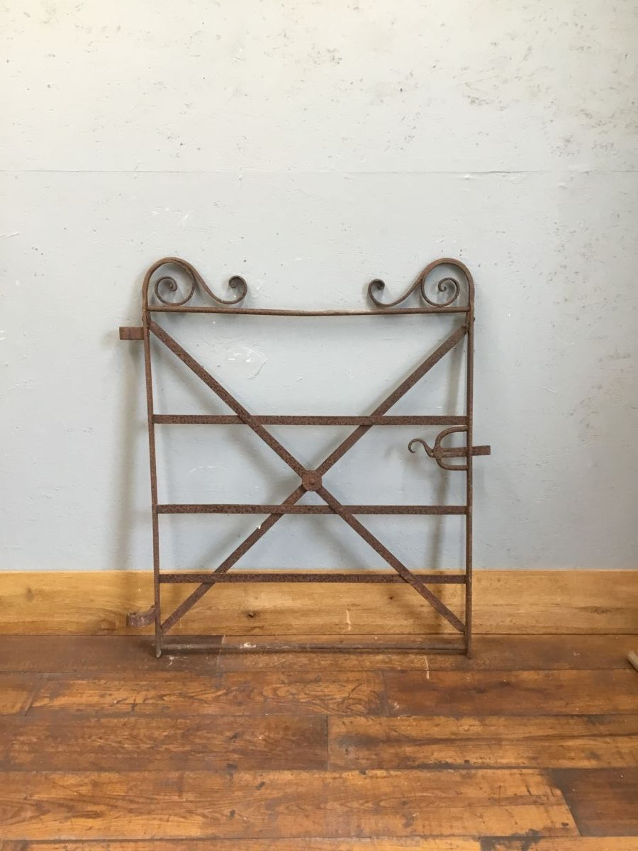 Iron Swirl Gate