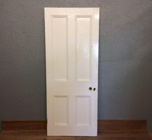 4 panel Painted White Door