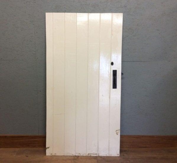 White Ledge & Braced Door
