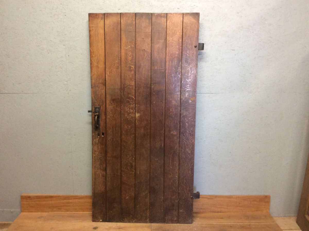 Old Oak Ledge & Brace Door