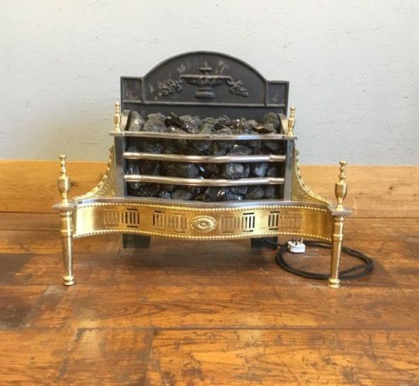 Regency Style Electric Fire Basket