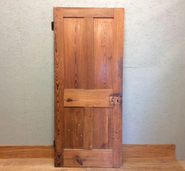 Dark Stripped 4 Panelled Door